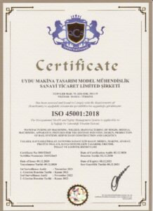 ISO 4500 2018