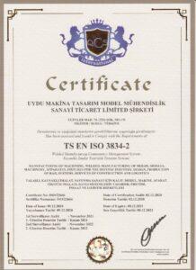 TS EN ISO 3834 2
